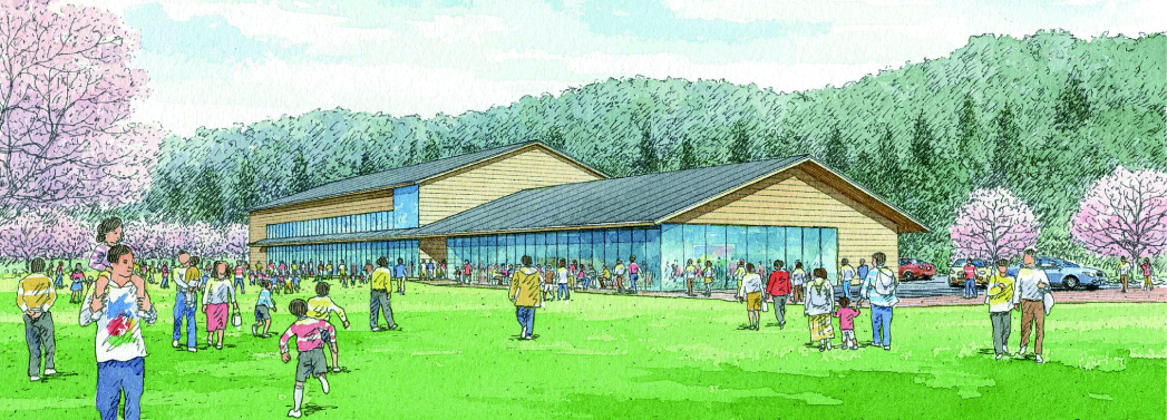 大槌町赤浜公民館・避難ホール計画(2013)