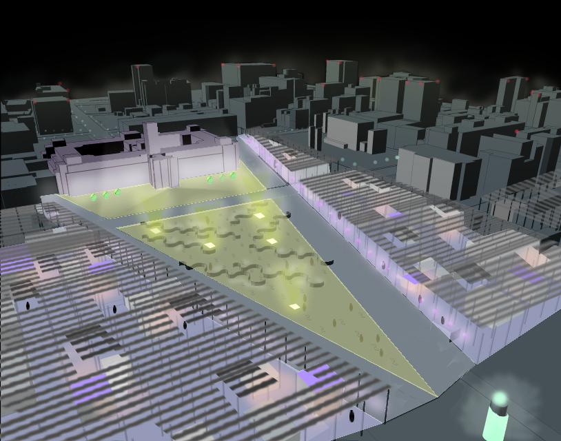台北総統府広場改造計画国際設計競技・佳作案(2001)